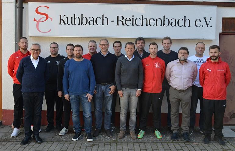 Vorstandschaft SC Kuhbach-Reichenbach e.V.